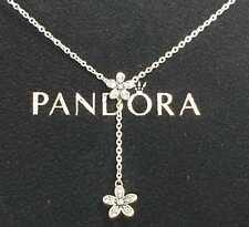 Pandora, Collar de Estrella Fugaz claro CZ Plata S-925 60cm Cadena