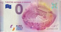BILLET 0  EURO THEATRE ANTIQUE D'ORANGE FRANCE 2015 NUMERO 2200