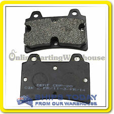 GO KART BRAKE PADS 15mm or 11mm  DENT ARROW MONACO OMEGA GENUINE DENT NEW PADS