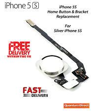 Nuevo Completo Botón De Inicio Kit reemplazo para iPhone 5s con freno - Silver