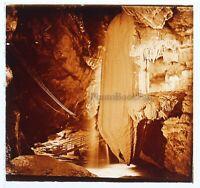 Francia Gouffre de Padirac Foto Placa De Cristal Vintage VR11b4