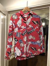 Moschino Shirt Coca-cola  Vintage Corduroy Unisex