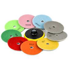 10pcs Wet Dry 4'' Diamond M14 Polishing Pad Saw Discs For Granite Marble Polish