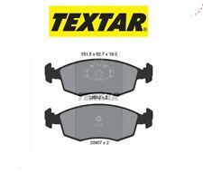2355202 Kit pastiglie freno a disco ant.Fiat (MARCA-TEXTAR)
