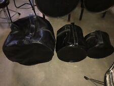 Vintage Naugahyde Drum Cases