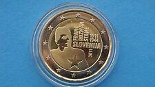 """♣ Pièce 2 euros commémo  SLOVENIE 2011  """"  FRANC ROZMAN-STANE """"   sous capsule"""
