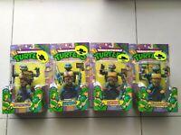*NEW* Nickelodeon Teenage Mutant Ninja Turtles classic Set lot Playmates Toys