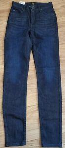 Lee Scarlett Skinny High Waist Jeans 28W 33W - Brand New