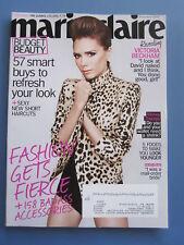 VICTORIA BECKHAM POSH SPICE magazines MARIE CLAIRE November 2010