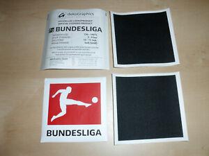 Original 1. Bundesliga Patch BVB Frankfurt Mönchengladbach Köln wie Matchworn
