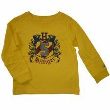 Tommy Hilfiger Kinder Baby Jungen langarm T-Shirt Gelb Löwe Boy Kids Shirt 86
