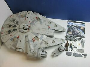 COMPLETE star wars THE LEGACY COLLECTION MILLENNIUM FALCON ship HASBRO 2008