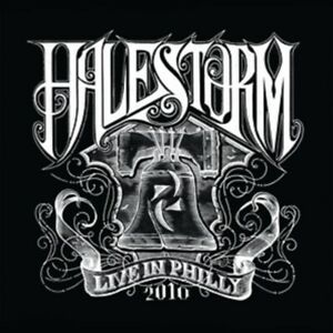 Halestorm - Live in Philly 2010 - New 140g Crystal Clear and Black Mixed Vinyl