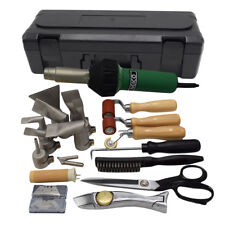 Professional TPO / PVC Single Ply Roofing Hot Air Welding Gun Tools Kit (W/Case)