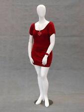 Fiberglass Plus Size Female Mannequin Manikin Dress Form Display #NANCYW2