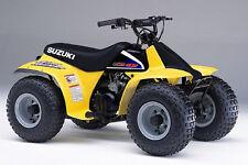 Suzuki LT50 Kids Quad 1989-2006  6 in 1 Owner Service Manual s - DOWNLOAD ONLY