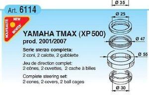 SERIE STERZO COMPLETA BUZZETTI YAMAHA T-MAX TMAX 500 2001-2007 CODICE 6114