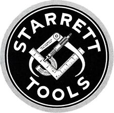 """STARRETT # C310T-6 / 6"""" STEEL RULE WITH TAPERED END & RED SLEEVE – BRAND NEW"""