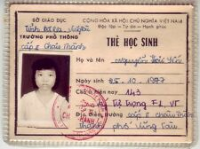 Vietnam Female Student The Hoc Sinh  Ba Ria Vung Tau-Authentic