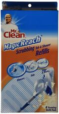 32 COUNT Mr. Clean Magic Reach Scrubbing Tub and Shower Pads, 4 Pack- 8 count ea