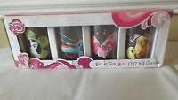 HASBRO MY LITTLE PONY JUICE GLASSES SET OF 4 NEW IN BOX