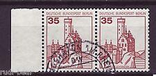 Berlín nº 673 Vandersanden. castillos & cerraduras waagrechtes par -1