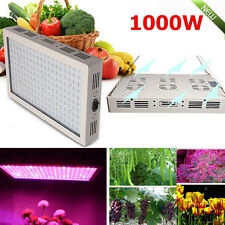 1000W Full Spectrum LED Grow Light dual Chip Medical Plant Veg Bloom Plant Panel