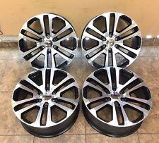 "22"" 22 inch Machined Black Wheels Rims OEM Specs GMC Sierra Yukon Denali 4-Set"