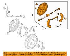 Chevrolet GM OEM 04-06 Aveo Rear-Brake Assembly Right 96534701
