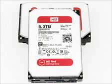 NEW! WD Red 8TB 3.5 SATA NAS Hard Drive WD80EFZX 128MB Cache