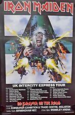 2 x Iron Maiden- Orig. Vintage Posters. FREE INTERNAT. SHIPPING
