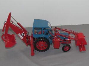 JCB Major Loader MK 1 Excavator Universal Hobbies 1:16 Diecast Backhoe SHARP!