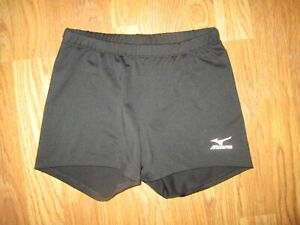 Womens MIZUNO DRYLITE athletic spandex fitted volleyball shorts sz M Md Med