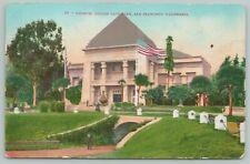San Francisco CA~Museum In Golden Gate Park~1910 Postcard