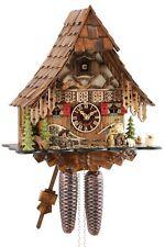 Eble -holzhacker 35cm- 24723 Reloj Cucú Original de la Selva Negra Reloj de Cuco