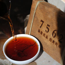1PC Old Pu'erh Tea 2008 Yunnan Ripe Puer Tea7562 Brick Tea 250g Pu-erh Black Tea
