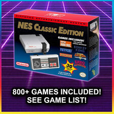 NES CLASSIC MODDED with 805+ Games 🔥🔥 Nintendo Classic Edition Console NEW