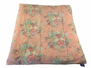 Vintage Retired Ralph Lauren MAURA Floral Roses Comforter Full / Queen