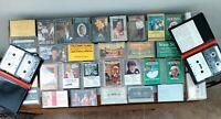 Huge LOT 42 cassette tapes Country Bluegrass Gospel  Greatest Hits