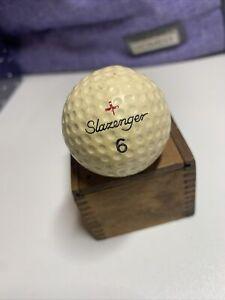 Vintage Slazenger England Fireball Opel Golf Ball #6 (B-3-11)
