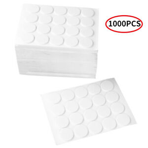 1000Pcs Foam Candle Wick Stickers Double-Sided Stickers for Candles DIY Making C