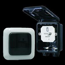 ELRO Funk Aussenwandschalter 1000W Home Easy HE834S IP44 Funkschalter 433,92 MHz