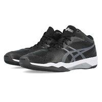 Asics Mens Volley Elite FF MT Court Shoes Black Sports Handball Breathable
