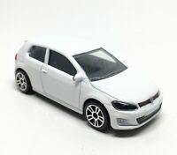 Majorette Volkswagen VW Golf VII GTI White 1/64 264C Defected 001