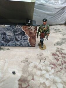 King & Country's Toy Figure WS114 Waffen 2008 Rare & Retired Excellent Condition