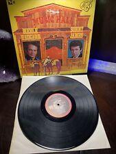 VTG Music Hall Merle Haggard Sonny James Vinyl Record G