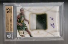 Alec Burks 12/13 Immaculate Patch Auto RC #PP-BUB SN #47/75 BGS 9.5/10