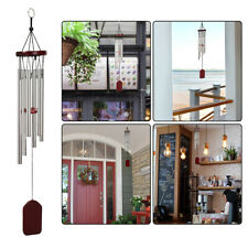 Us 6 Tubes Wind Chimes Chapel Bells Windchime Outdoor Garden Home Decoration