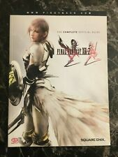 Final Fantasy XIII-2 Complete Official Guide Strategy Guide