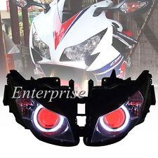 Projector HID Headlight White Angel Red Demon Eyes for Honda CBR1000RR 2012-2014